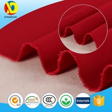 Eco friendly high quality bright color plain dyed 100% cotton twill fabric wholesale