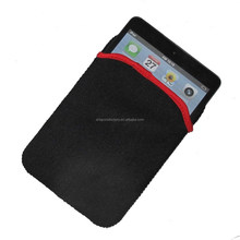 factory price reversible neoprene tablenote pouch fit for Ipad Mini