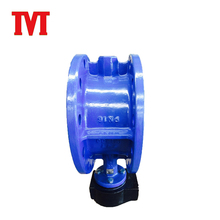 Standard 1 inch flange butterfly valve for cement