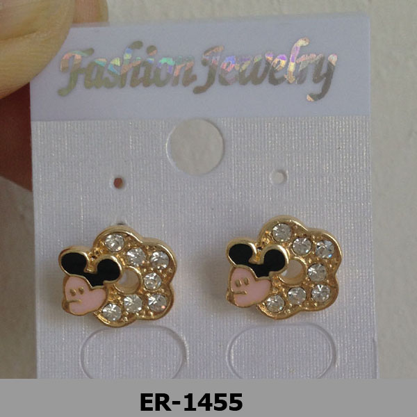 Small Animal Mouse Shape New Design 2014 Fashion Earring Competitive Price High Quality Hot Sale Wholesale