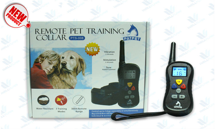 16 Level Shock Vibra Remote Pet PTS-008