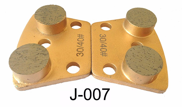 Diamond Concrete Grinding Shoe For Magnetic Plate