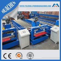 Corrugated Steel Tile Roof Panel Forming Machine for Making Corrugated Zinc Sheets
