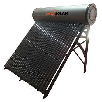 1.5mm Pressurized Vacuum Tube Heat Pipe Solar Water Heater with Controller