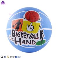 Lenwave brand high quality size 7 rubber basketball,offical standard rubber basketball,colorful basketball