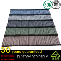 factory hot selling new arrival High quality colorful stone coated metal roofing