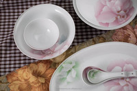 National gift porcelain dinner set ceramic santa dinnerware sets