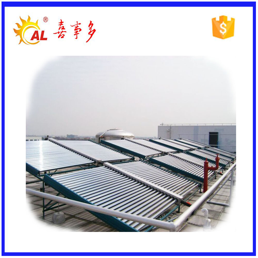 Pressurized vacuum evacuated tube solar thermal collector