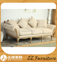 Cheap wooden accent sofa made in China