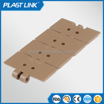Plast Link Top slat chain conveyor for dring food plastic conveyor chain