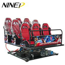Home theater 5D 7D cinema electrical / hydraulic software new immersive sense movies 8D VR machine