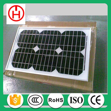 Monocrystalline Silicon Material 25w solar panel China factory direct