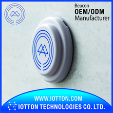 Support eddystone bluetooth beacon da14580 ibeacon sticker with UUID major minor modify app