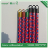 Nice pvc coated broom handle with short cap plastic besom broom straw