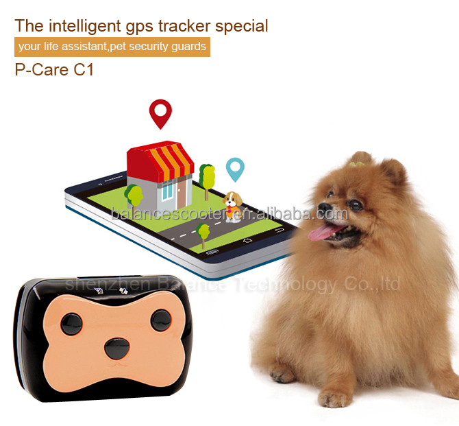2016 Pet Accessories GPS Tracker Dog Collar with Invisible Geo-Fence