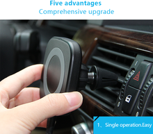 wireless car charging holder car charger wireless,car phone holder magnetic with high quality