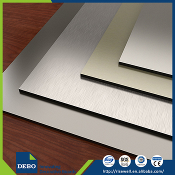 Fireproof decorative solid HPL panels