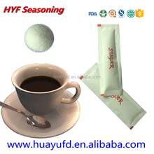 Video show white refined granulated sugar 3g for coffee tea