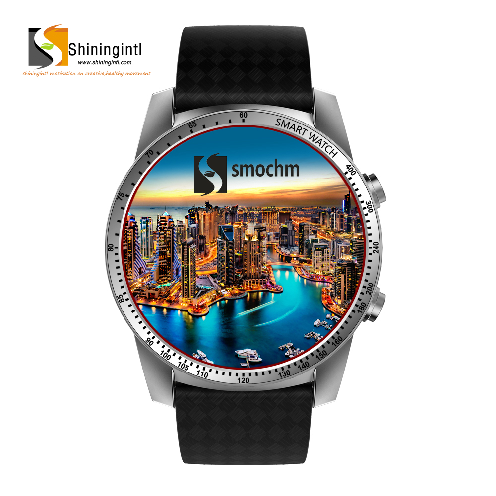 sk99 3g wcdma gsm bands SIM card bluetooth wifi GPS whatsapp facebook supported Android 5.1 smart watch for iphone android