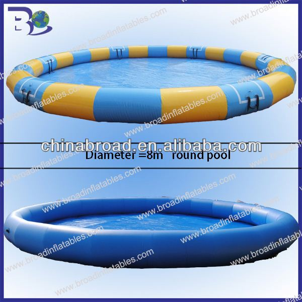 Best quality customized size 0.9mm pvc inflatable pool slip
