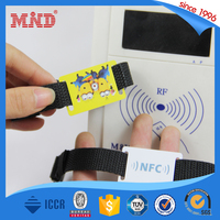 MDWW41 wholesale Adjustable Woven ID nfc bracelet