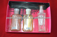 2014 new style Clear Transparent PVC Folded Box Packaging For skin care products