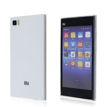 ultra thin tpu back cover phone accessories for xiaomi mi3 case