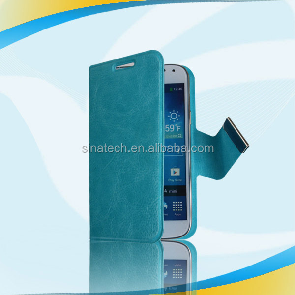 Classical protective leather for sony ericsson wt19i case