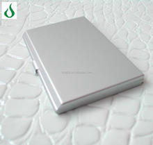 Silver/personalized high quality aluminum alloy can be customized fashion card case
