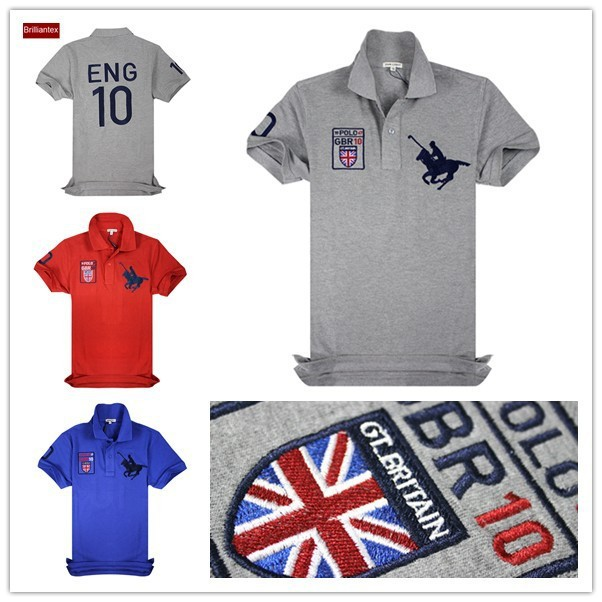 Embroidery logo wholesale polo t shirt latest design polo for Where to buy polo shirts cheap