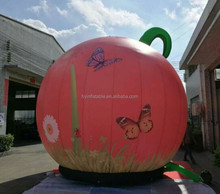 Festival party advertising large nice inflatable pumpkin decor