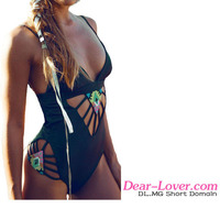 Custom made 2016 japanese pretty sexy young rubber swimsuit one piece