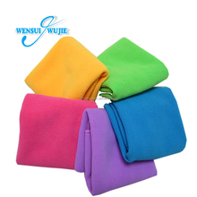 Wholesale 100% polyester custom microfiber beach towel china