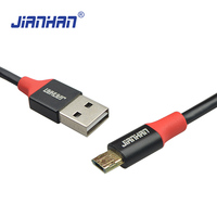 popular colored super slim mobile phone charger usb cable round