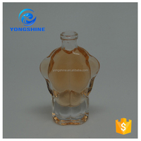 china cheap 15ml man shape perfume bottle factory sexy man body shape glass bottle for perfume