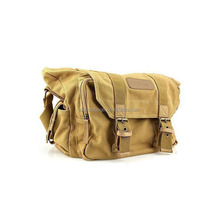 men fancy vintage digital canvas messenger camera bag