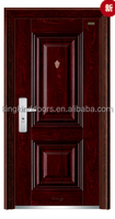 Popular design Steel Door Main Door 2014 KKD-340 With CE/BV/ISO/TUV/SONCAP