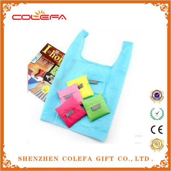 Alibaba India Wholesale Foldable Tote Bag Waterproof Fold Up Nylon Shopping Bag