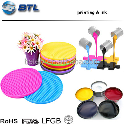 Cheap & Good silicone spray ink for screen printing of silicone mat