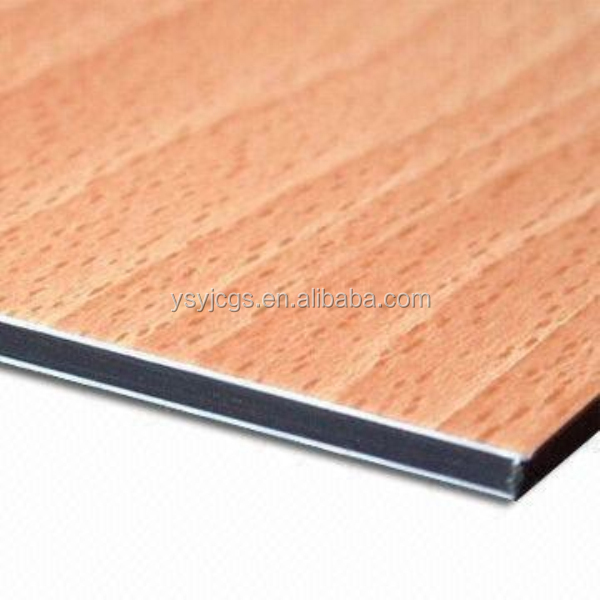 2mm 3mm 4mm 5mm 6mm wood grain wall cladding aluminium composite panel acm Premium Free Inspection