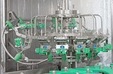 Large capacity automatic 3-in-1 mineral/pure water filling/bottling plant/machine/system(RFCW40-40-12)