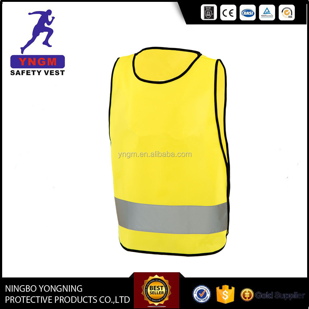 Novel high visibility safety vest disposable safety vest ANSI EN20471