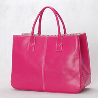 With Good Gifts!Hot sale fashion Design brand composite women's Simple elegant PU leather handbag