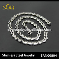 SAN00804 stainless steel chain jewelry, steel chain