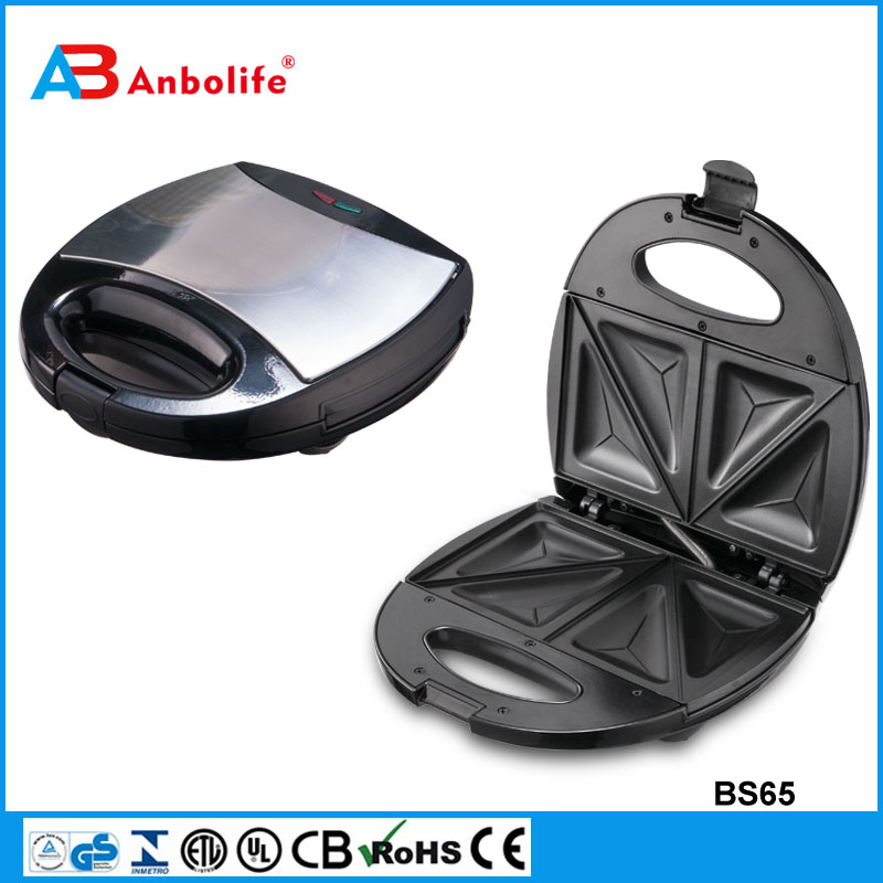 Anbo 3 IN 1 DETACHABLE 4 SLICE SANDWICH MAKER Electric