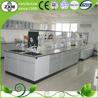 ISO9001/14001 CE wooden medical chemical laboratory bench cabinet