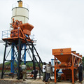 Used Widely HZS25 Mini Concrete Batching Plant Price
