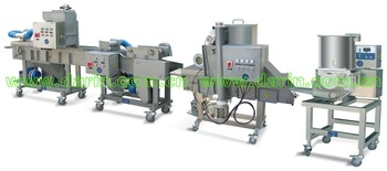 meat patty nugget forming machine/Hamburger Making Line