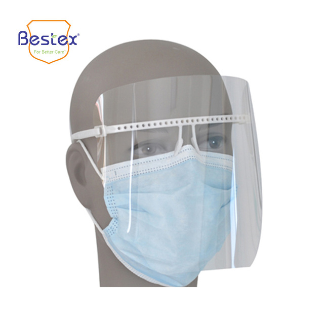 anti fog disposable face shield with sponge