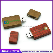 Excellent quality professional wooden usb flash drive with cord